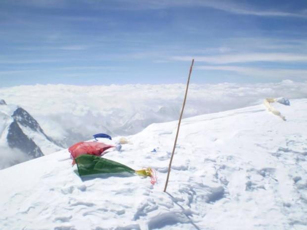 Wierzchołek K2 (fot. Janusz Gołąb)