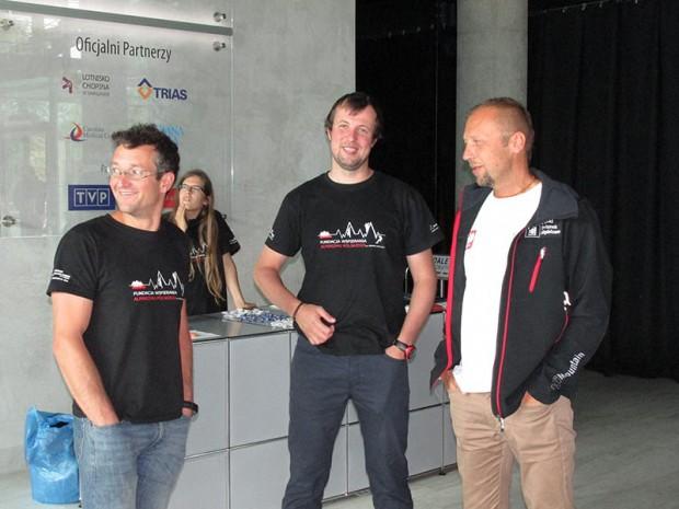 Marek Chmielarski, Mariusz Grudzień i Paweł Michalski (fot. Janusz Kurczab)