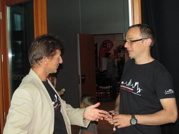Grzegorz Bielejec i Marcin Kaczkan (fot. Janusz Kurczab)