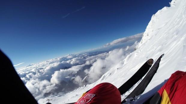 Na nartach na ośmiotysięczniku