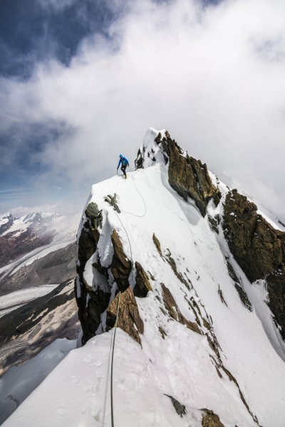 Breithorn Traverse - David Thexton