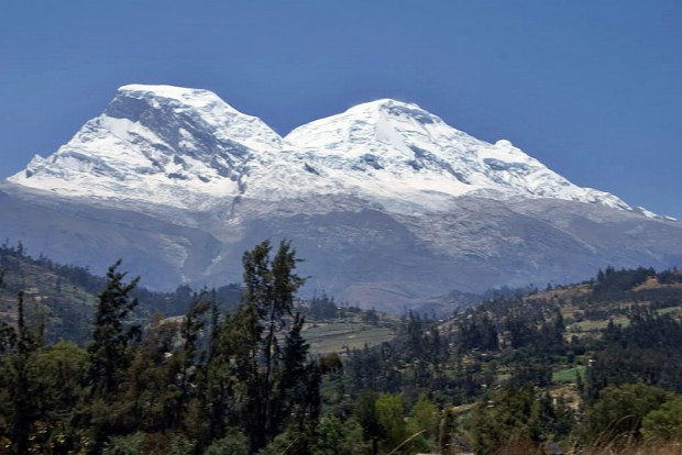 Nevado Huascarán (fot. Wikipedia)
