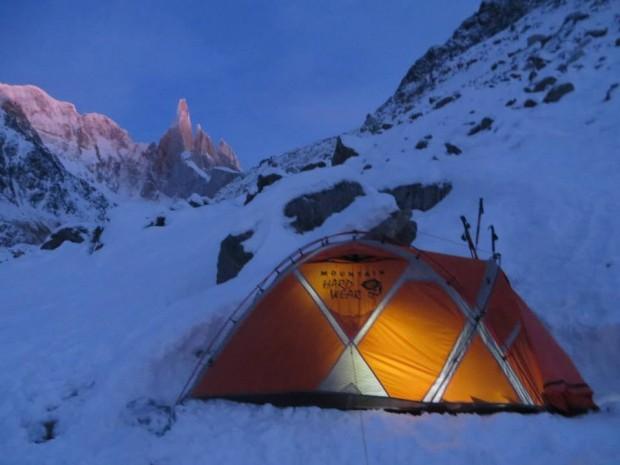 Po pierwszym zimowym biwaku w Patagonii...