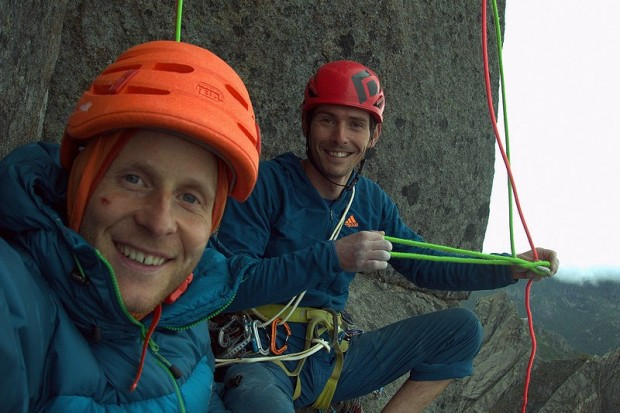Na stanowisku :) (fot. arch. Adam Pustelnik i Andreas Klarström)