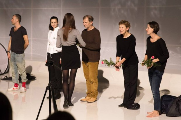 Jadwiga Jankowska-Cieślak - druga od prawej (fot. Kasia Bąba / teatralna.com)