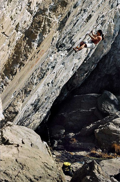 "Alex free solo na ""Opportunist"" X (fot. Michael Meisel)"