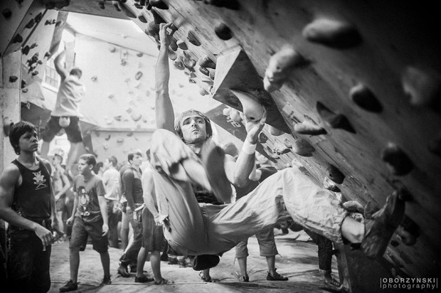 W akcji Łukasz Müller / fair-climb.pl (fot. Oborzyński Photography)