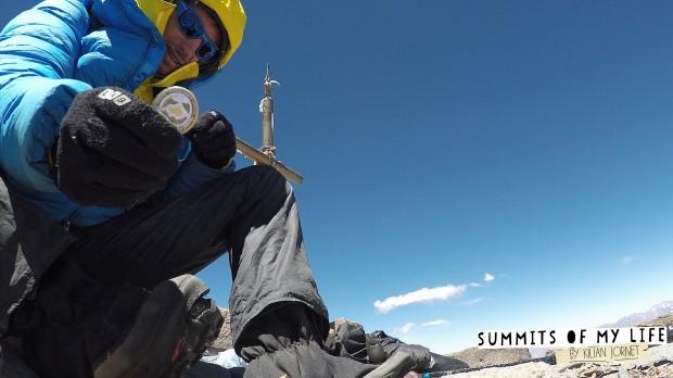 Kilian Jornet na Aconcagua