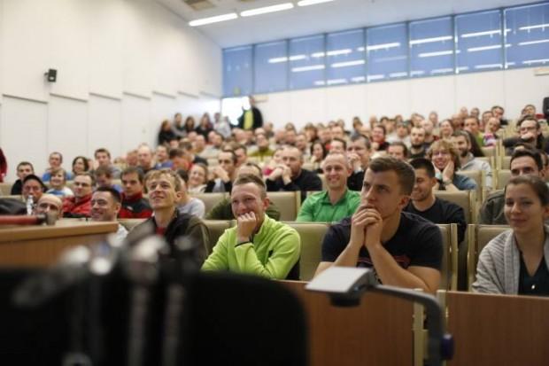 Wykłady i warsztaty na KFG jak zawsze bardzo popularne (fot. Wojciech Lembryk)