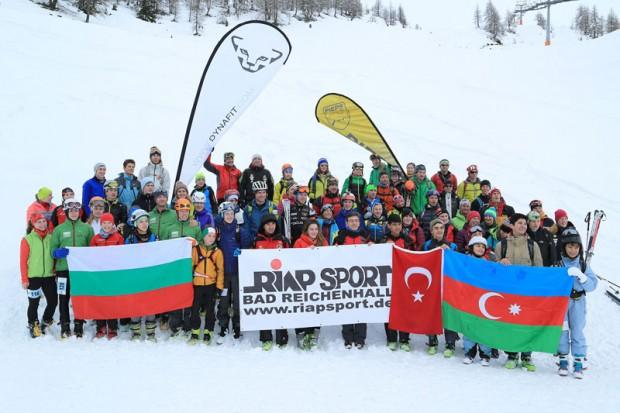50 uczestników z 11 krajów, w tym z Polski, wzięło udział w obozie skiturowym  w Austrii (fot. Willi Seebacher)