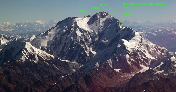 Nanga Parbat - Rosjanie osiągnęli wysokość 7150 m (fot. Guilhem Vellut, źródło Nanga Dream)