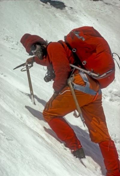 Chris Bonington na Annapurnie w 1970 roku (źródło. sir Chris Bonnington's Archives)
