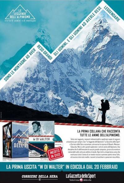 Le leggende dell alpinismo - plakat