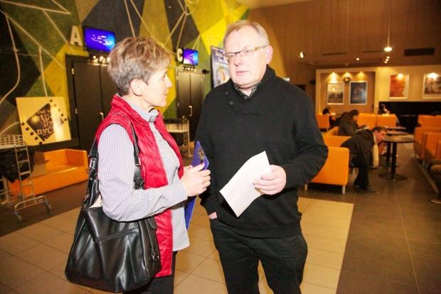 Oraz prowadzący imprezę Monika Witkowska i Roman Gołędowski (fot. Robert Kielak)
