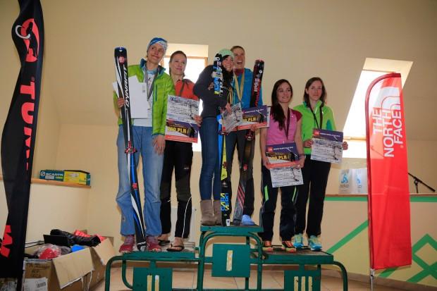 Damskie podium Mistrzostw Polski (fot. Tomek Król)