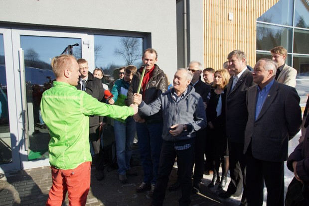 Krzysztof Wielicki otwiera Centrum Górskie Korona Ziemi (fot. Bartek Oczkowski)