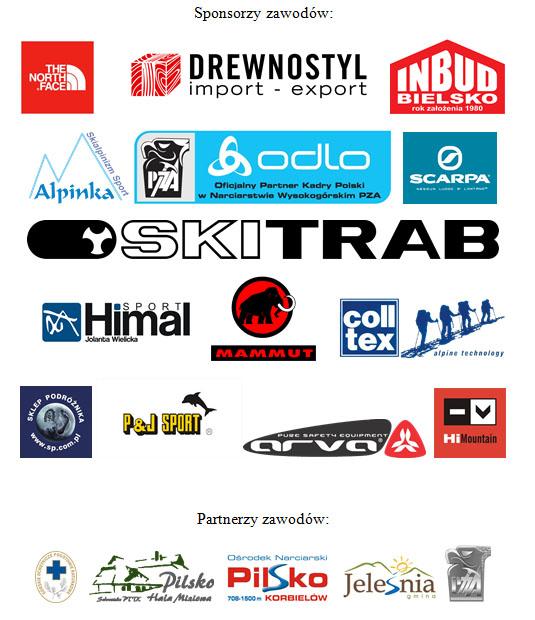 sponsorzy i partnerzy zawodów