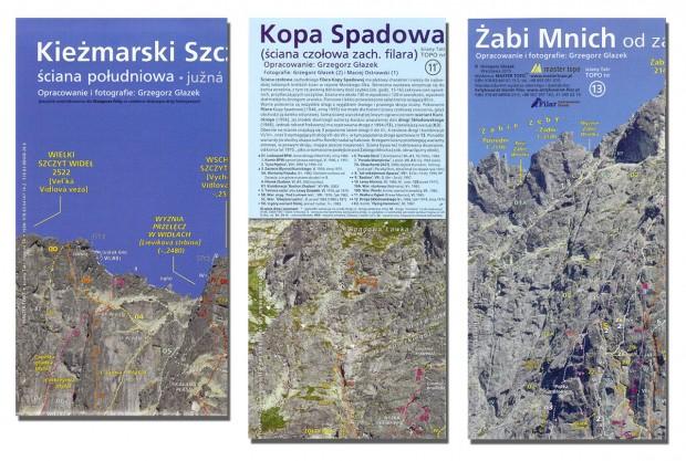 Nowe plakaty Master Topo: Kieżmarski Szczyt, Kopa Spadowa i Żabi Mnich
