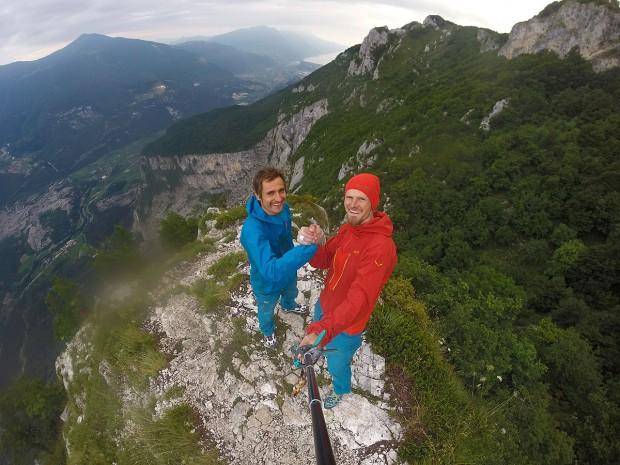 Radość na szczycie (fot. arch. Alpine Wall Tour)