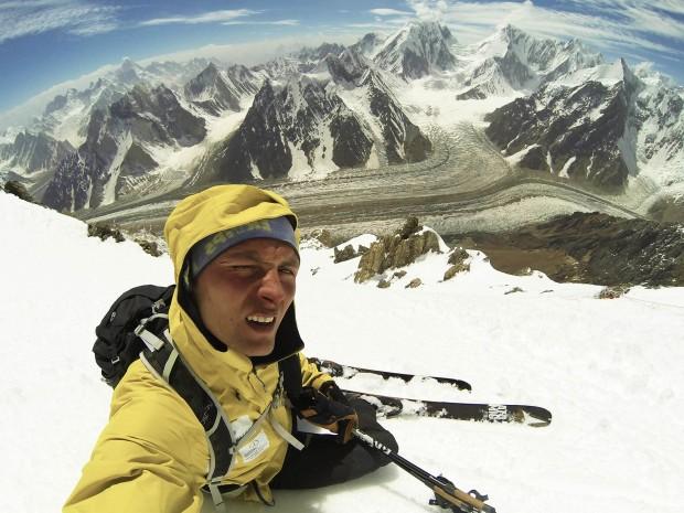 Andrzej Bargiel na Broad Peak