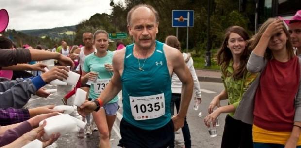 Zbigniew Berdychowski w biegu