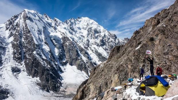 Obóz wysunięty 3900 m (fot. P. Strzelecki)