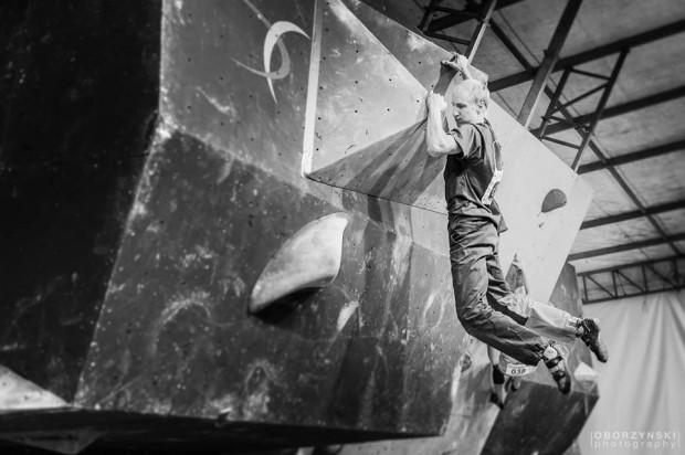 Piotrek na Zako Boulder Power 2015 (fot. Michał Oborzyński / Oborzyński Photography)