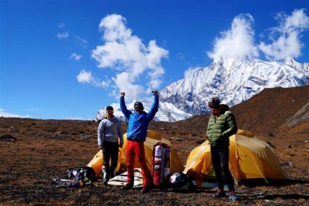 Ekipa już w bazie pod Annapurną IV