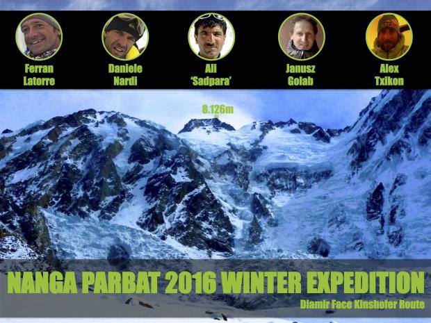 Nanga Parbat 2016 Winter Expedition
