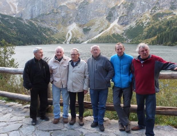 Autorzy dróg na Kazalnicy, od lewej: Grzegorz Chwoła, Ryszard Szafirski, Stanisław Biel, Jan Kiełkowski, Andrzej Marcisz i Marek Zierhoffer (fot. K. Baran)