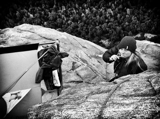"Hazel Findlay - ""Golden Gate"", Yosemite (fot. www.hazelfindlayclimbing.com)"