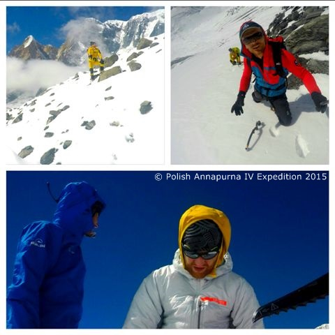Spacerujemy... (fot. Polish Annapurna IV Expedition 2015)