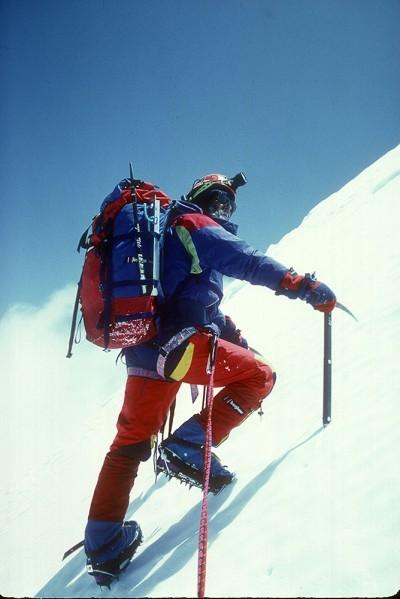 Chris Bonington na Panch Chuli, 1992 rok (fot. Chris Bonington Picture Library)