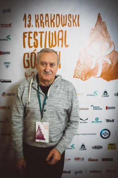Krzysztof Wielicki na 13. KFG (fot. Adam Kokot)