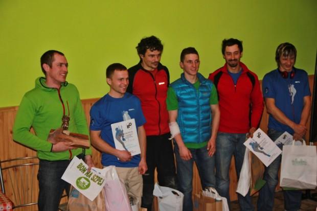 Najlepsi z mężczyzn. Od lewej Damian Granowski, Karol Dąbrowski, Erik Rabatin, Wadim Jabłoński, Janek Mondzelewski, Paweł Olendzki. (fot. Damian Granowski )