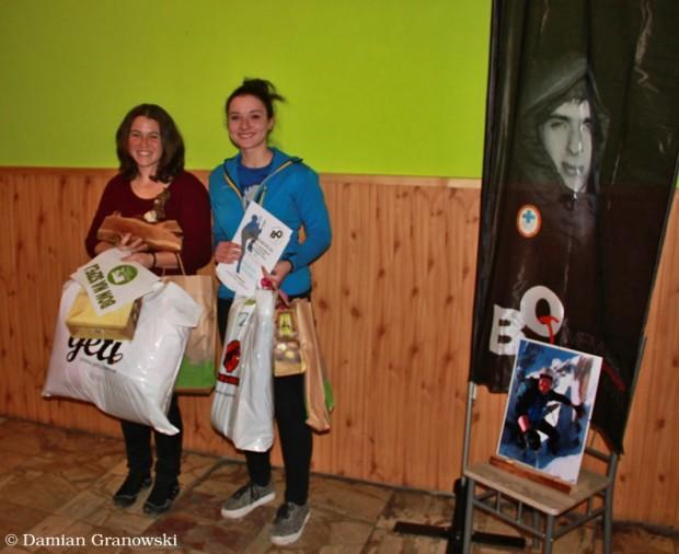 Podium kobiet. Od lewej Daria Krynicka, Marta Ziembla. (fot. Damian Granowski)