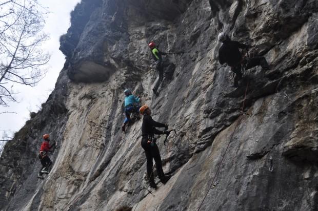 Szeroki zakres formacji skalnych Letanovskiego Mlyna (fot. Maria Tokarz-Olszańska)