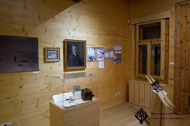 """Wystawa """"Magia nart"""" w Muzeum Tatrzańskim (fot. Rafał Jabłoński-Zelek)"""