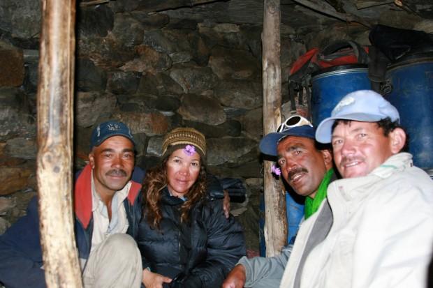 Cleo Weidlich w obozie pod Lela Peak, 2009 rok