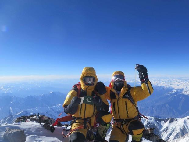 Ali Sadpara i Simone Moro na Nanga Parbat (8126 m)