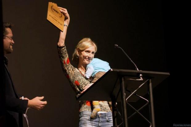 Eliza Kubarska odbiera Grand Prize w Vancouver