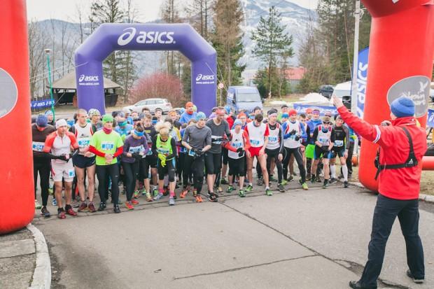 Festiwal tradycyjnie rozpoczął Bieg RMD Winter Run