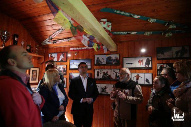 Na otwarciu Izby był, m.in. Prezydent Katowic, Marcin Krupa (w środku)