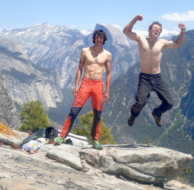 Jacob Cook i Robbie Phillips - radość po przejściu El Niño