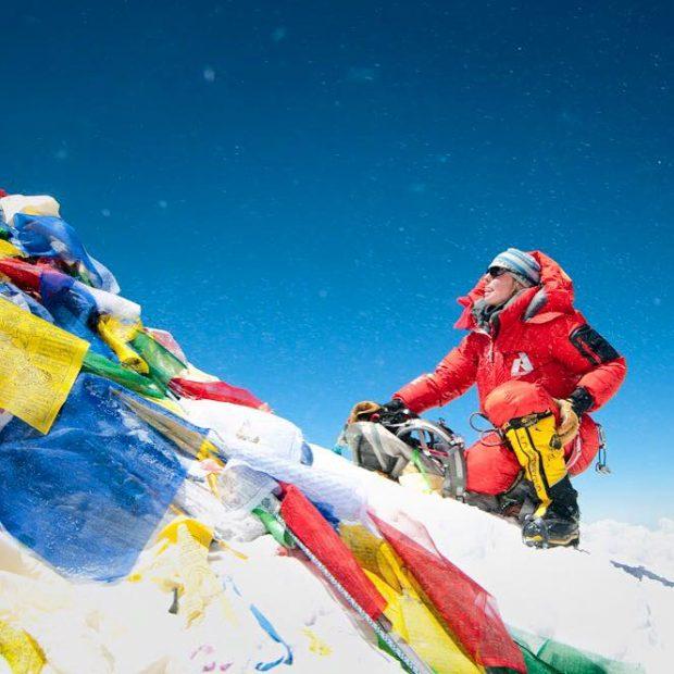 Melissa Arnot na szczycie