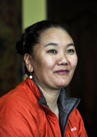 Lhakpa Sherpa (fot. PRAKASH MATHEMA/AFP/Getty Images)
