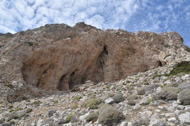 Ściany Karpathos czekają na swoich zdobywców...