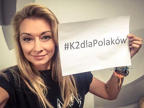 Martyna Wojciechowska wspiera akcję #K2dlaPolaków
