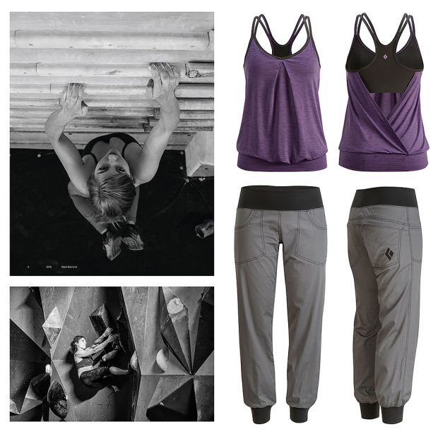 "Kolekcja damska ""Gym to Crag"""" W's Sheer Lunacy Tank i W's Notion Pants"