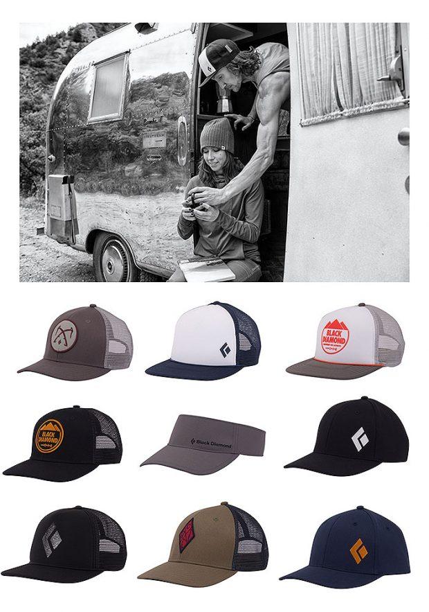 Kolekcja letnich czapek Black Diamond